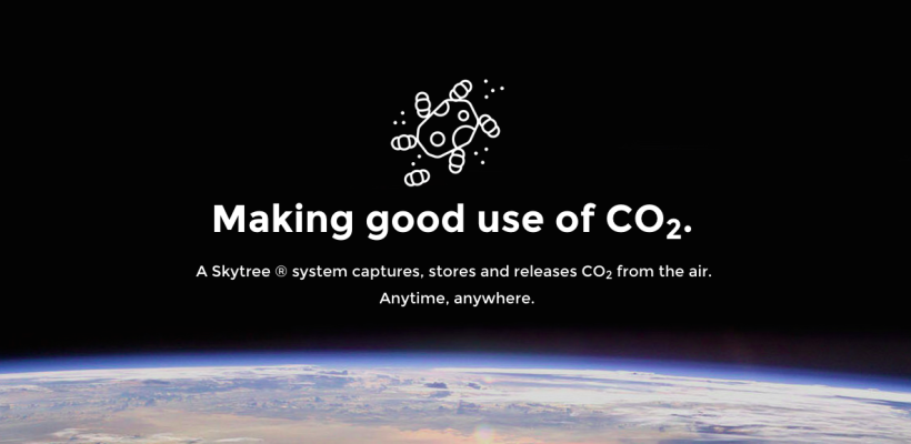 Skytree raises €400.000 for CO2 technology